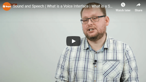 What is a sound and speech interface? 2