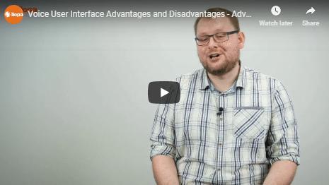 Voice user interface: advantages and disadvantages 2