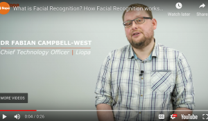 What is facial recognition?